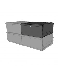 Drawer [450] Type 1 Charcoal Body Black Draw Face